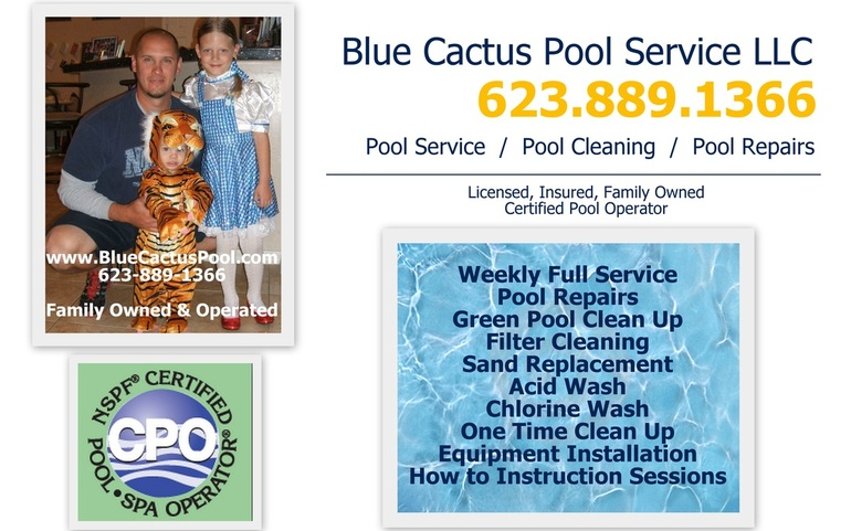 Sun City Arizona Pool Service Phoenix Scottsdale Anthem Peoria Pool Cleaning Service and Repair